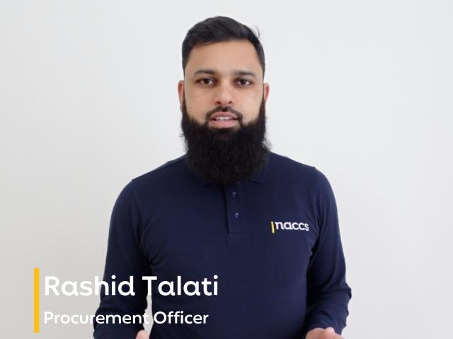 Team Focus – Rashid Talati